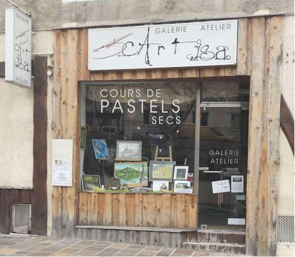 atelier de pastels
