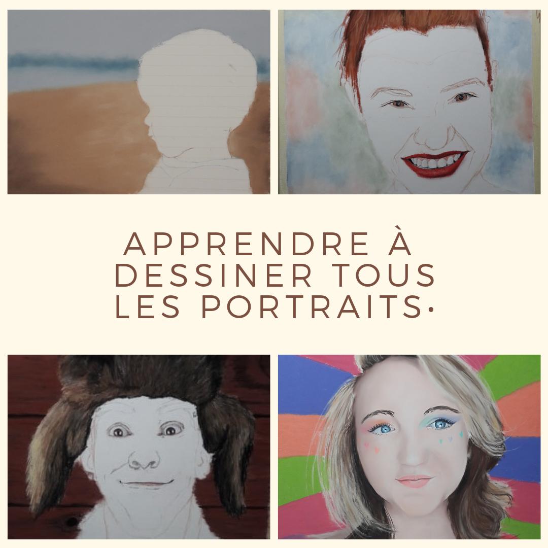 cours portraits