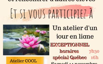 des ateliers de pastels au Québec