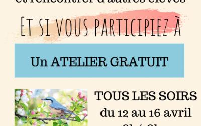Atelier de pastels en ligne gratuit