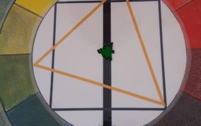 Le cercle chromatique simplifié pour les pastels secs