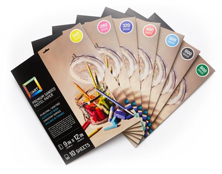 papier UART couleurs pour pastels secs